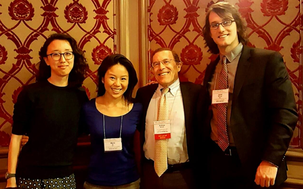 MD/PhD Students and Professor at 2017 APSA Meeting