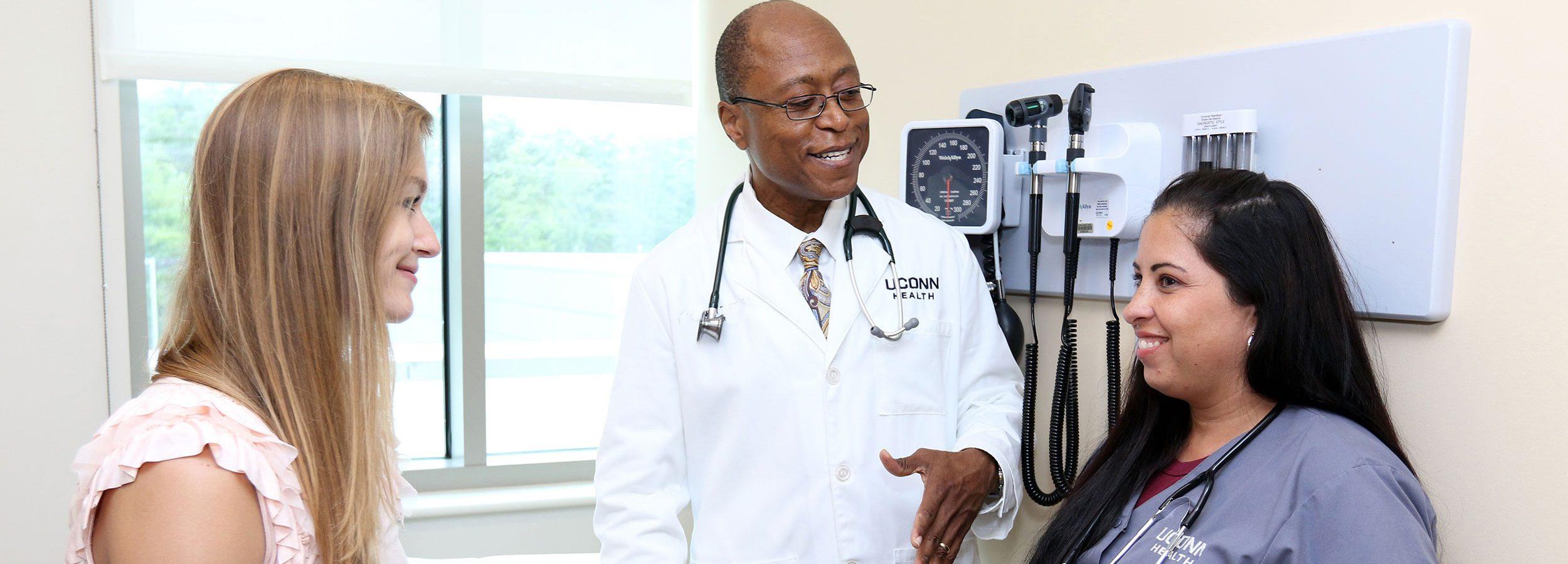 UConn Health Doctor and Nurse at UConn Health